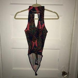 Paisley Tribal Sleeveless Bodysuit 3/$12